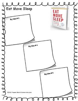 """Eat, Move, Sleep"" by Tom Rath (Philosopher's Notes Worksheet)"