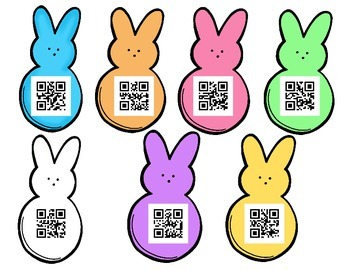 Eat Peeps: A QR ee/ea long vowel sort