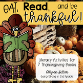 Eat, Read, and Be Thankful! Thanksgiving Literacy and Book Activities