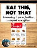 Eat This, Not That! restaurant food comparison