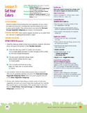 Eat Your Colors!  A lesson on nutrition for teens