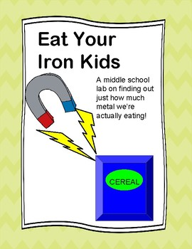 Eat Your Iron Kids (A Middle School Science lab on eating metal)