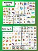 Eat Your Peas - Matching cards, Mini-cards, Flashcards - Food, Routines & Places