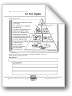Eat Your Veggies (Charts/Persuasive Paragraphs)
