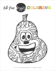Eat Your Veggies Coloring Pages