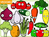 Vegetables (Digital Clip Art)