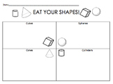 Eat and Graph Solid Shapes