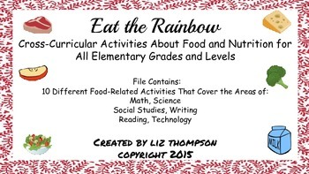 Eat the Rainbow - An Unit on Food and Nutrition