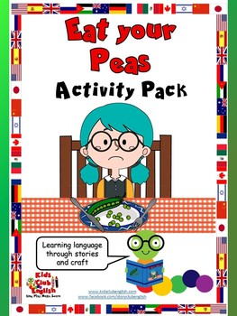 Eat your Peas Activity Pack - Learn through Stories, Games and Craft