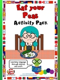 Eat your Peas Activity Pack - Learn through Stories, Games