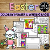 EASTER Activity, Coloring and Writing Pages, Color Sheets, Creative Writing