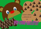 Eater Cookies Bear/ Oso come galletas