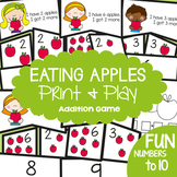 Addition Game - Eating Apples - Math Center