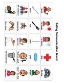 Eating Communication Board/ AAC