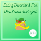 Health Eating Disorder & Fad Diets Research Project