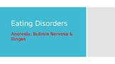 Eating Disorders: Anorexia, Bulimia & Binge Problems