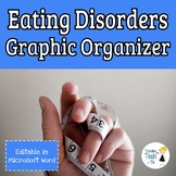 Eating Disorders Graphic Organizer - Editable in Microsoft Word