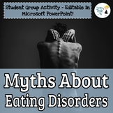 Eating Disorders Myths - Student Group Analysis Activity -