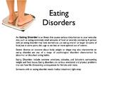 Eating Disorders PowerPoint