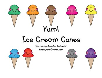 Eating Ice Cream (flavors) : Shared Reading Book