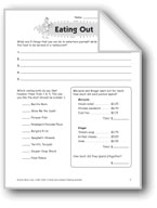 Eating Out (Thinking Skills)