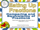 Eating Up Fractions Comparing and  Equivalency of Fractions