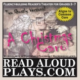 A Christmas Carol reader's theater play script (includes t