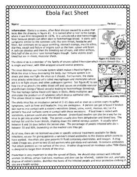 Ebola Fact Sheet (High School)