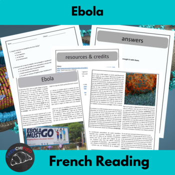 Ebola - reading for intermediate/advanced French learners