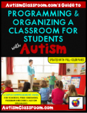 How to Set Up, Organize & Manage a Class for Students with Autism w/Checklists