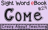 Ebook-Sight Word 'Come' (Benchmark Advance Kindergarten Series)