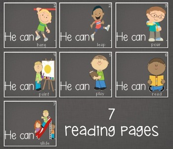 Ebook-Sight Word 'He'