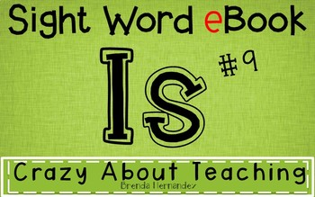 Ebook-Sight Word 'Is'