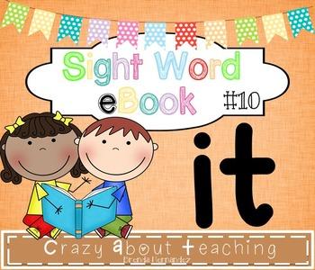 Ebook-Sight Word 'It'