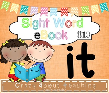 Ebook-Sight Word 'It'