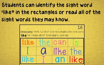 Ebook-Sight Word 'Like' (Benchmark Advance Series)