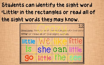 Ebook-Sight Word 'Little' (Benchmark Advance Kindergarten Series)