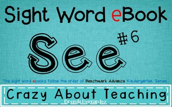 Ebook-Sight Word 'See' (Benchmark Advance Series)