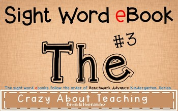 Ebook-Sight Word 'The'
