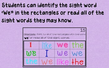 Ebook-Sight Word 'We' (Benchmark Advance Series)