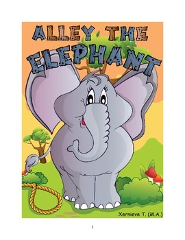 Elephant - An ebook that teaches values, writing, reading and comprehension
