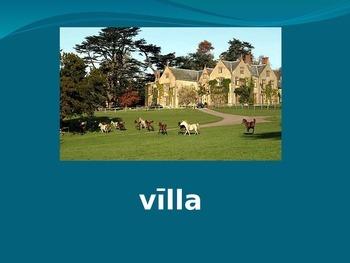 Ecce Romani Chapter 1 Vocab PowerPoint