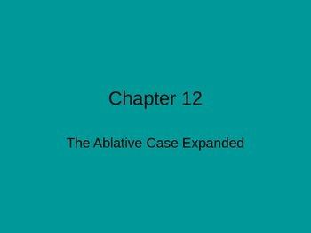 Ecce Romani, Chapter 12
