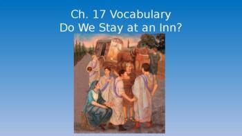 Ecce Romani I Chapter 17 Vocabulary PowerPoint
