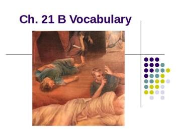 Ecce Romani I Chapter 21 - B  Vocabulary PowerPoint