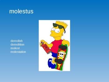 Ecce Romani I Ch. 4 Vocabulary PowerPoint