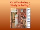 Ecce Romani I Ch. 6 Vocabulary PowerPoint