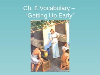 Ecce Romani I Ch. 8 Vocabulary PowerPoint