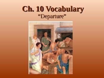 Ecce Romani I Chapter 10 Vocabulary PowerPoint