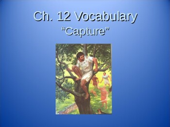 Ecce Romani I Chapter 12 Vocabulary PowerPoint